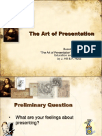 Art of Presentation
