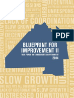 Task Force on Consolidated Government Blueprint for Improvement II