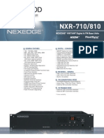 Kenwood NXDN NXR-710 (VHF) 810 (UHF) Repeater