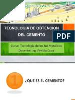 Tecnologia de Obetncion del Cemento.ppt