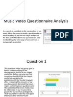 Media Studies- Questionnaire Analysis