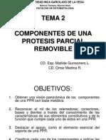 Ppr Tema 2 Componentes (Retenedores, Conectores, Bases y Dientes)