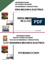 POTENCIAL HIDROENERGETICO DE LA NACION.ppt