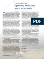 Rice Today Vol. 13, No. 4 Extreme poverty in decline, but much more to do