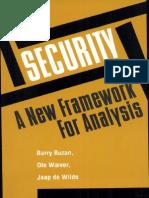 Buzan, Barry - Security_ a New Framework for Analysis