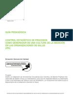 Control estadístico de Procesos en las Organizaciones de Salud.pdf