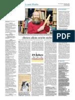 2014 Der Sonntag - ThSL - Rainer Mueller - Prof Seidel