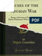 Causes of the Afghan War selection papers laid before parliament (1879)