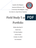 Portfolio FS5 and FS6