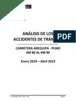 Analisis de los Accidentes de Tránsito CARRETERA PUNO - AREQUIPA v 6.6.14 _Para el MTC.pdf