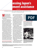 Rice Today Vol. 13, No. 4 Reassessing Japan's development assistance