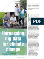 Rice Today Vol. 13, No. 4 Harnessing big data for climate change