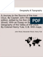Journey to Source of River Oxus (1872) by Wood and Yule
