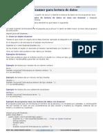 Scanner Para Lectura de Datos en Java