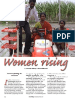 Rice Today Vol. 13, No. 4 Women rising