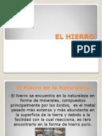 EL HIERRO.pptx