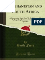 Afghanistan and South Africa--letter to W.E. Gladstone (1881)
