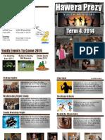 Term 4 Planner 2014