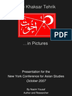 Presentation at the New York Conference on Asian Studies by Nasim Yousaf