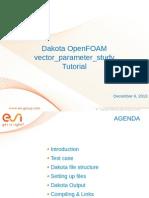 Shuttle DAKOTA-OpenFOAM Tutorial EDY