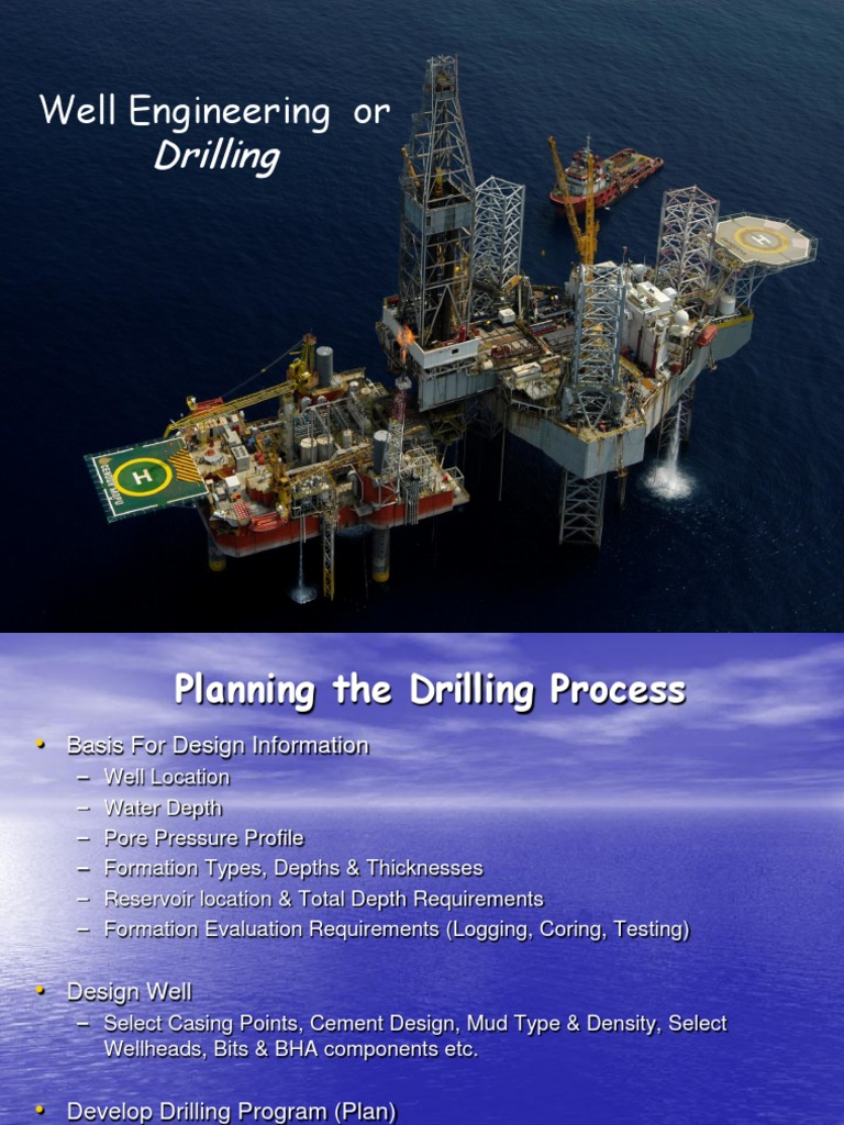 Drilling for Dummies | Oil Well | Drilling Rig