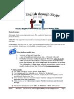 Study English Through Skype