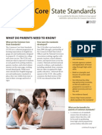 common core brief parents