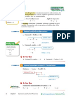 substitution guide and problem