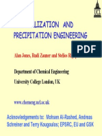 Crystallization and Precipitation Eng
