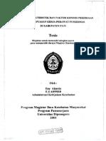pengaruh karakteristik dan faktor kondisi pekerjaan dengan kepuasan kerja perawat.pdf