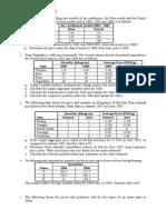 Index Num Excercise