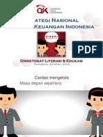 Materi Strategi Nasional Literasi Keuangan Indonesia