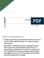 research  quantitative
