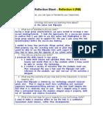 peer coaching reflection sheet 4 rm