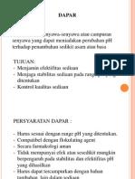 Dapar Dan Pengawet Praktiikum Ftl10