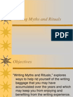 Writing Myths and Rituals