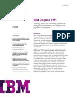 Cognos TM1 10.2.2