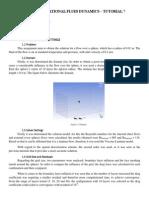 Flow Around a Sphere - Fluent Analysis