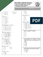soal ujian sekolah matematika XII IPAsemester ganjil.docx