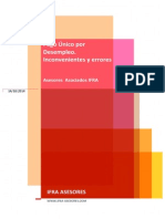 INCONVENIENTES Y ERRORES HABITUALES EN EL PAGO UNICO DEL DESEMPLEO - IFRA ASESORES