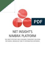 Sis Netinsight Digital Tv Network Construction Nimbra Platform