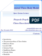 Circular Restricted Three Body Model