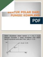 Bentuk Polar Fungsi Kompleks