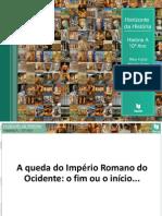 A queda do Imério Romano do Ocidente.ppt