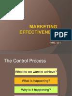 Marketing Effectiveness Metrics