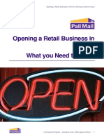 Opening a Retail Business in the UK