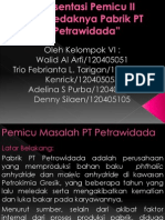 Presentasi Pemicu II New Edit