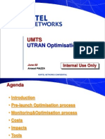 UTRAN Optimisation Process