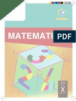 Buku Matematika Kelas X