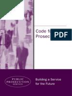 Code for Prosecutors